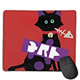 Luhong Splatoon SquidForce Splatfest Cat  Mouse Pads Pack with Non-Slip Rubber Base, Premium-Textured and Waterproof Mousepads Bulk, Mouse Pad for Computers, Office & Home, 18x22inches, 3mm