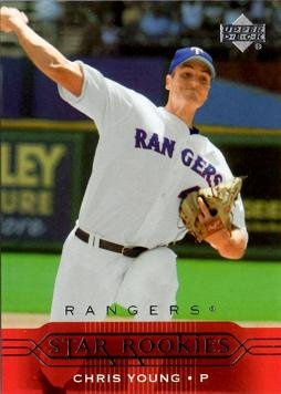 2005 Pitchers - 2005 Upper Deck Baseball #247 Chris Young Pitcher Star Rookies Card