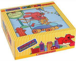 Clifford's Puppy Days Block Puzzle