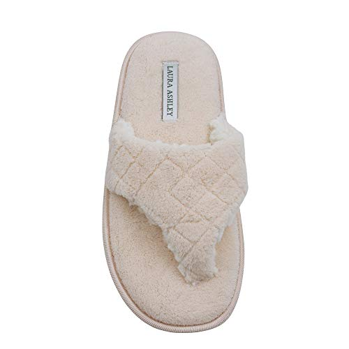 Spa Macaron Ladies Ashley Foam Laura Strap Slippers Insole Plush Thong Memory CBtTTvqw