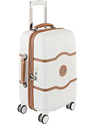 Delsey Luggage Chatelet Hard+ 21 Inch Carry On 4 Wheel Spinner Luggage, Champagne 21