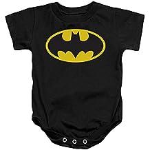 CLASSIC BATMAN LOGO INFANT S/S SNAPSUIT
