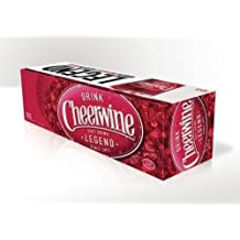 Diet Cheerwine Cherry Soda - 12 Oz Can: 48 Count 2 Cases (48 count) by Cheerwine