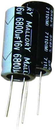Aluminum Electrolytic Capacitors 100 Leaded 16volts 330uF
