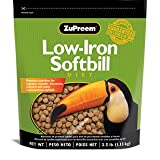Zupreem Low-Iron Softbill Diet 2.5# for Mynahs & Toucans