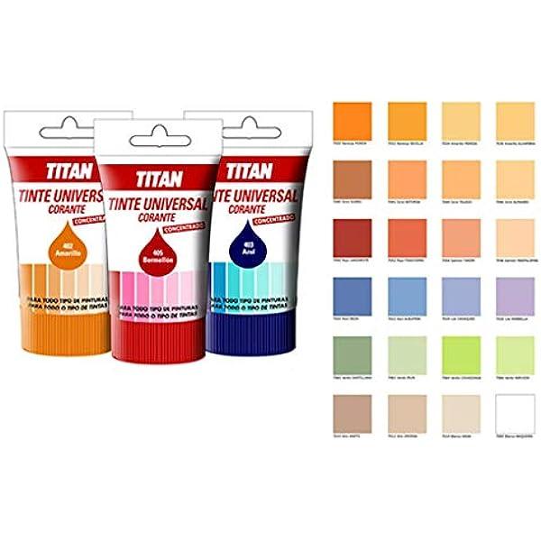 Universal M30671 - Tinte 50ml titan rojo oxido: Amazon.es ...