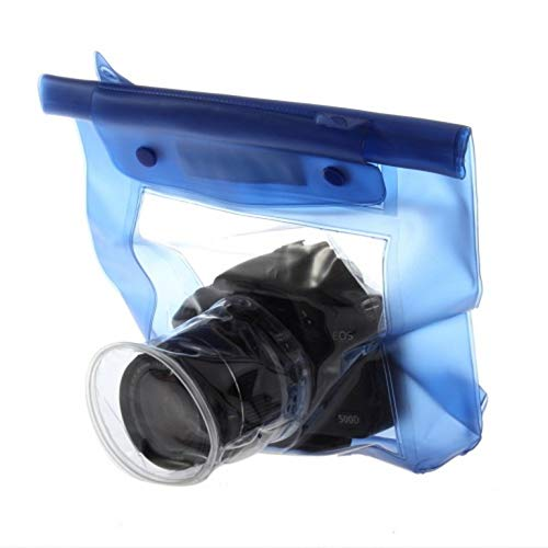 (Canon Camera Waterproof Case, 20M Waterproof DSLR SLR Digital Camera Bag Outdoor Underwater Housing Case Pouch Dry Bag for Canon for Nikon)