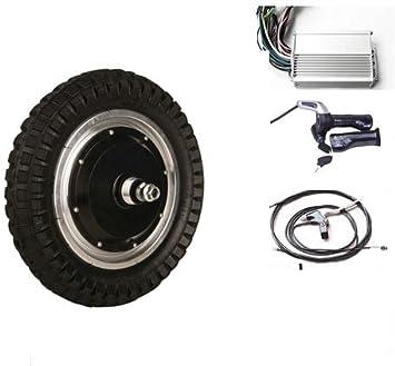 sarach store 12 Pulgadas 250W Motor eléctrico de la Rueda del Cubo 48V Equipo eléctrico del