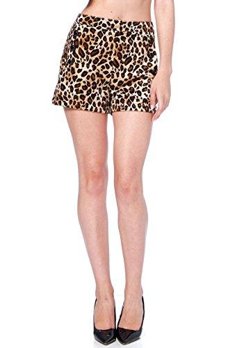Bombshell-Sexy-Wild-Beast-Velvet-Animal-Print-High-Waisted-Sailor-Shorts
