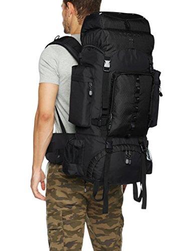 64c9933643 Amazon.com   AmazonBasics Internal Frame Hiking Backpack with Rainfly