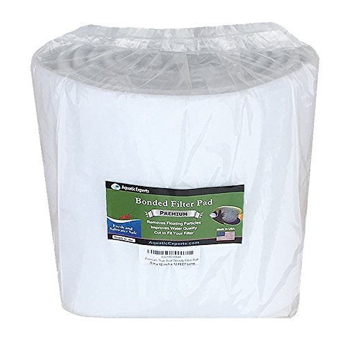 Premium True Dual Density Filter Roll - 12 inch by 12 FEET Long by 3/8