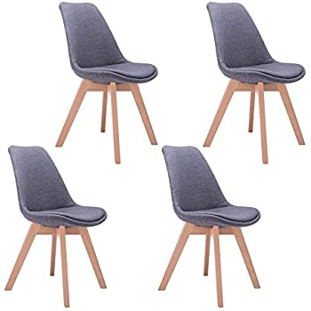 by walnut fabric modern design set black bjorn chair inmod home dining product chairs of tan