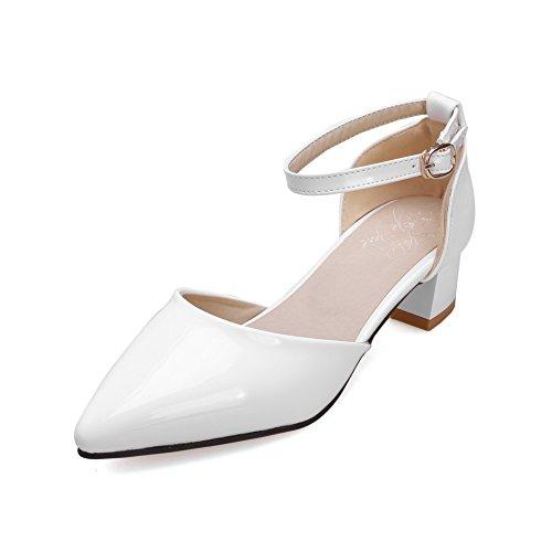 Blanc Sandales Blanc 36 AdeeSu EU 5 Femme Compensées xqtw66HB
