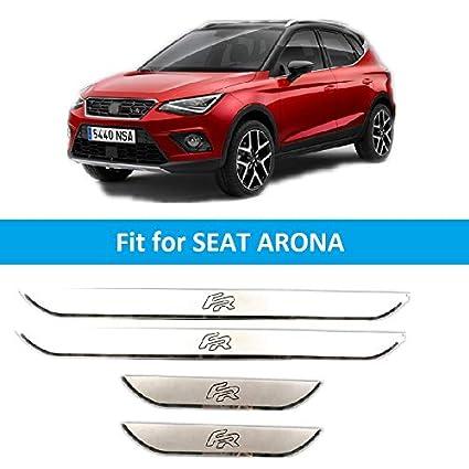 Stainless Steel Door Sill Plate for Leon Arona Ateca Ibiza