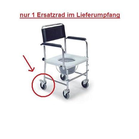 Behrend-domiciliaria 21500053 de repuesto con freno para silla WC de la silla de ruedas para ducha: Amazon.es: Hogar