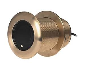 Garmin 010–10703–20Airmar B258Profundidad Temperatura de 8pines 50/2001KW Transducer Bronce