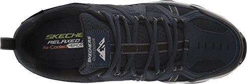 Skechers para Zapatillas Crossbar Navy Hombre Negro xxz7r1w