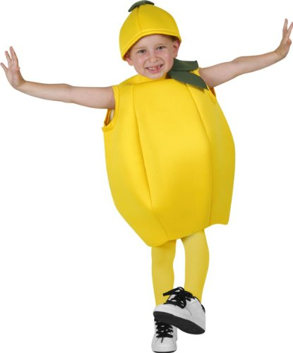 Childu0027s Lemon Costume (Size Small ...  sc 1 st  Amazon.com & Amazon.com: Childu0027s Lemon Costume (Size: Small 4-6): Toys u0026 Games