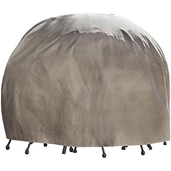 Amazon Com Duck Covers Elite Round Patio Table Amp Chair