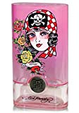 Ed Hardy Born Wild For Women for Women Gift Set - 3.4 oz EDP Spray + 0.34 oz EDP Rollerball + 3.0 oz Shimmering Body Lotion + 3.0 oz Bath & Shower Gel + Keychain