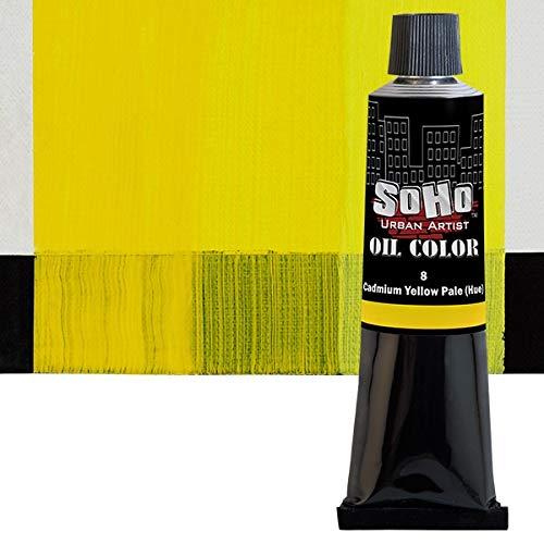SoHo Urban Artist Oil Color - 170 ml Tube - Cadmium Yellow Pale Hue