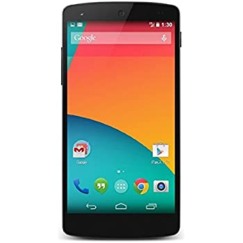 LG Nexus 5 D820 (NOT 5X) 4G LTE Android Smartphone 32GB - Black - (Unlocked GSM)
