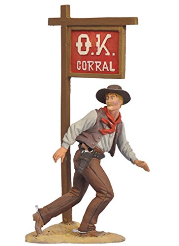 Cowboy Ike Clanton Gunfight at the O.K. Corral Tombstone Series 1/32 Scale Painted Metal Toy Soldier Figure New in Box FW0308 by Black Hawk