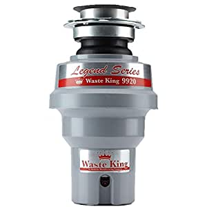 Waste King Legend Series 1/2 HP Continuous Feed Garbage Disposal with Power Cord - (9920)