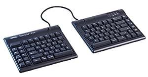 "Kinesis Freestyle2 Blue Wireless Ergonomic Keyboard for Mac (20"" Extended Separation)"