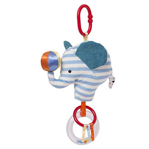 Manhattan Toy Brights Baby Activity Toy, Blue Elephant