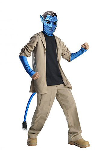 BUYSEASONS James Cameron's Avatar the Movie - Jake Sully Deluxe Halloween Costume - Child Size Small 4-6 ()