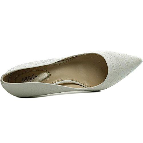 Pumps Jeules Pointed White Classic Toe Alfani Womens Snake BXwqf5