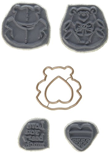 Art Impressions 4736 Mini Spinners Stamp & Die Set, 7