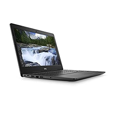 "Dell Latitude 0RG17 Laptop (Windows 10 Pro, Intel i5-8250U, 14"" LCD Screen, Storage: 500 GB, RAM: 8 GB) Black"