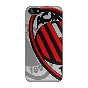 Kingsface 5/5s Scratch-proof protective case cover For Iphone/ Hot Ac Milan BHlfGzSFB2I Logo cell phone case cover