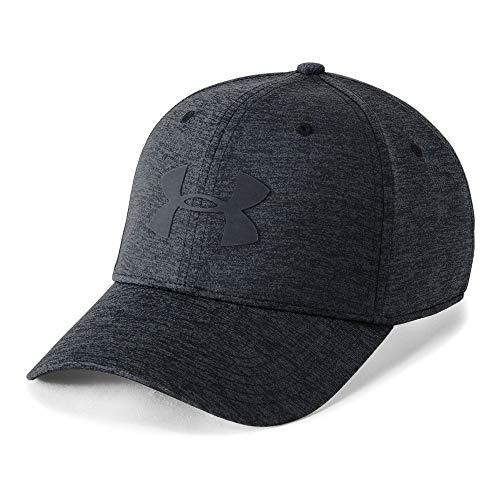 (Under Armour Men's Armour Twist 2.0 Cap, Black (001)/Stealth Gray, Large/X-Large)