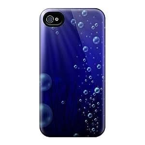 Dana Lindsey Mendez Iphone 4/4s Hybrid Tpu Case Cover Silicon Bumper Dark Blue Iphone4
