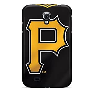 hill-hill Perfect Tpu Case For Galaxy S4/ Anti-scratch Protector Case (pittsburgh Pirates)
