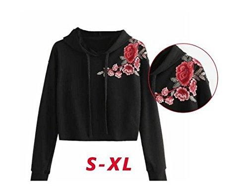 ... DAY8 Sweat Capuche Femmes Vetements Sport T-Shirt Printemps Manteau  Femme Chic Grande Taille Pull 7b00c5033ad
