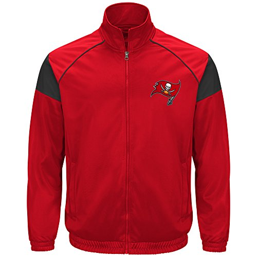 G-III Sports by Carl Banks Dash Track Jacket, SM, Red ()