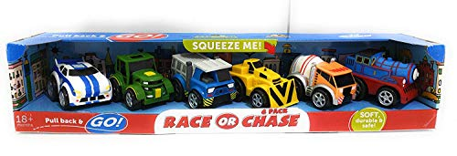- Kid Galaxy Squeeze Me 6 Pack Race Chase