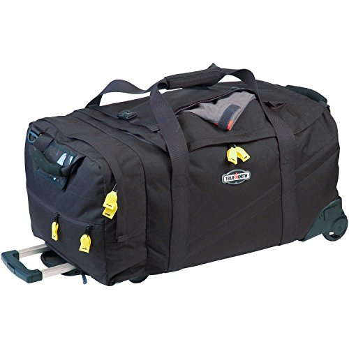 Travel Bag, Black, Ballistic Nylon, Metal by True Gear North