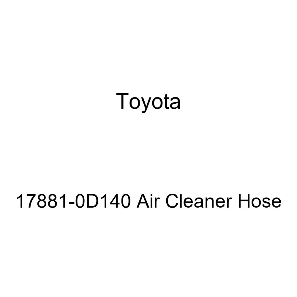 Genuine Toyota 17881-0D140 Air Cleaner Hose