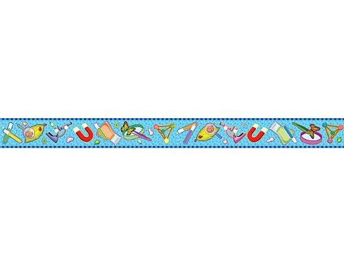 Border Science Trim - Teacher Created Resources Science Straight Border Trim, Multi Color (4682)
