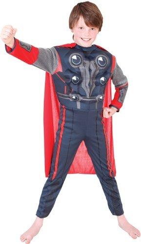Premium Thor Fancy Dress Costume - Small size (disfraz): Amazon.es ...