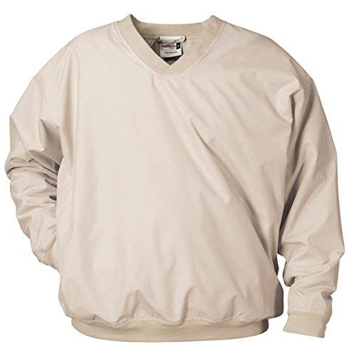 (Badger Adult Microfiber Windshirt, Stone, X-Large)