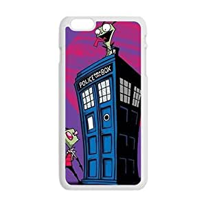 Mysterious doctor unique house and Peanuts Cell Phone Case for iPhone plus 6