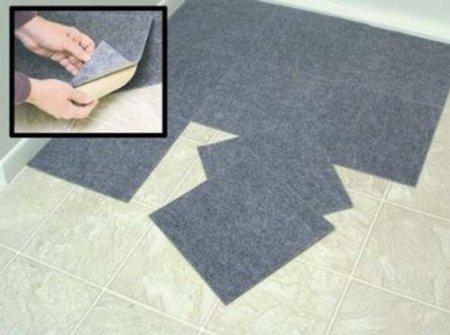 Amazon Peel Stick Berber Carpet Tiles Set Of 10 Gray By Jumbl