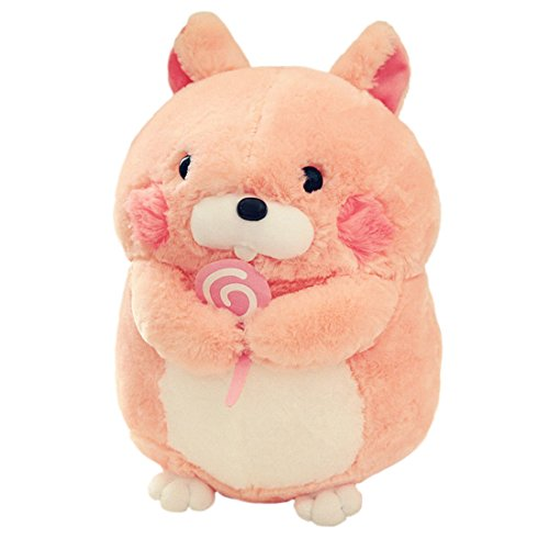 """Price comparison product image Cuddly Holding Candy Pink Groundhog Woodchuck Stuffed Animal Doll 12 """" Soft Toy Kids' Pillows Cushion Plush Doll For Graduation Valentine's Day Birthday Xmas Christmas Wedding Presents Gift"""