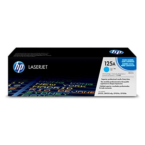 HP 125A (CB541A) Cyan Toner Cartridge for HP Color LaserJet CP1215 CP1515 CP1518 CM1312